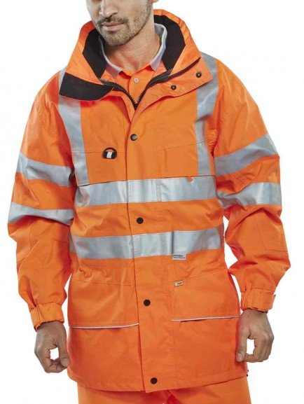 B-Seen CAROR Carnoustie Waterproof Jacket EN471