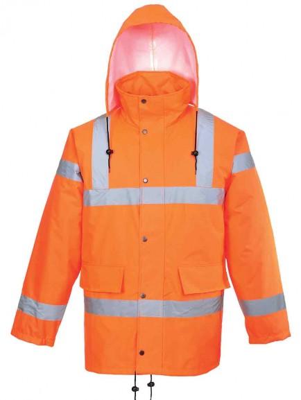 Portwest RT34 Hi-Vis Breathable Jacket GO/RT