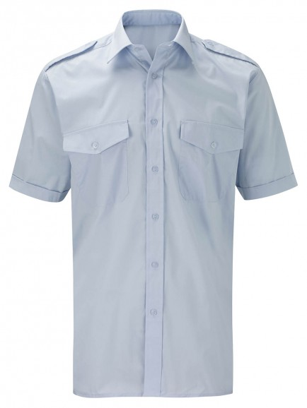 MPSSS Mens Pilot Shirt Short Sleeves