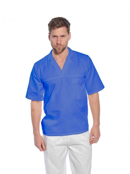 Portwest 2209 Bakers Shirt Short Slv.
