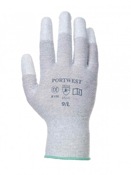 Portwest A198 Antistatic PU Fingertips Glove.