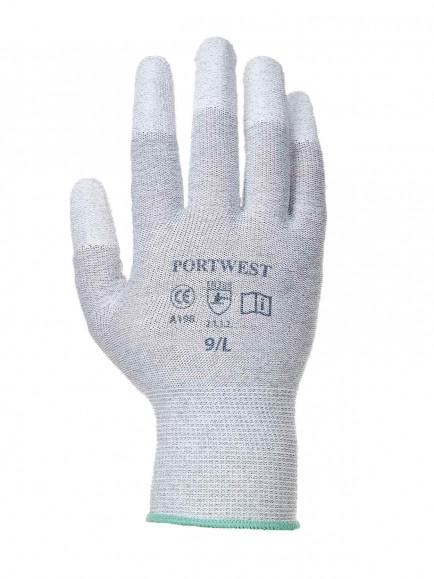 Portwest A198 Antistatic PU Fingertips Glove.