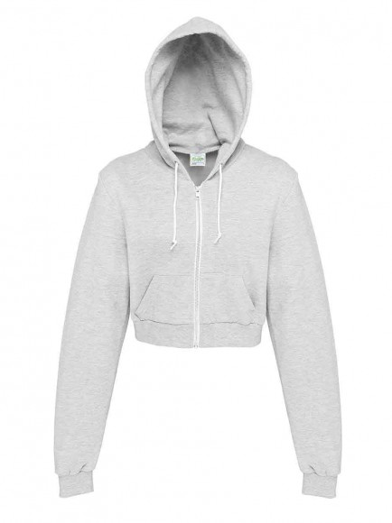 AWDis Hoods JH056 Girlie Cropped Zoodie