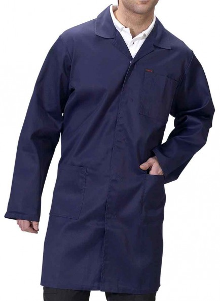 Click PCWC Poly/Cotton Warehouse Coat / Lab Coat