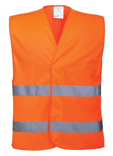 Portwest C474 Hi-Vis Two Band Vest