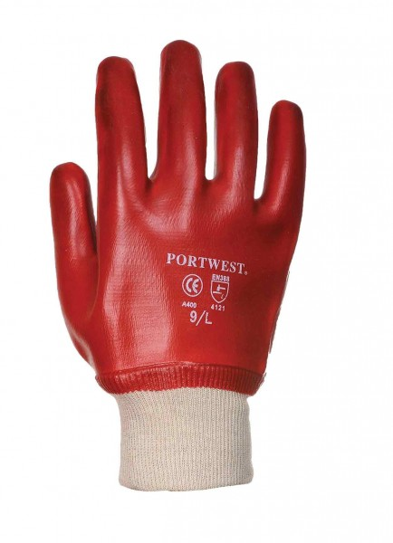 Portwest A400 PVC Knitwrist