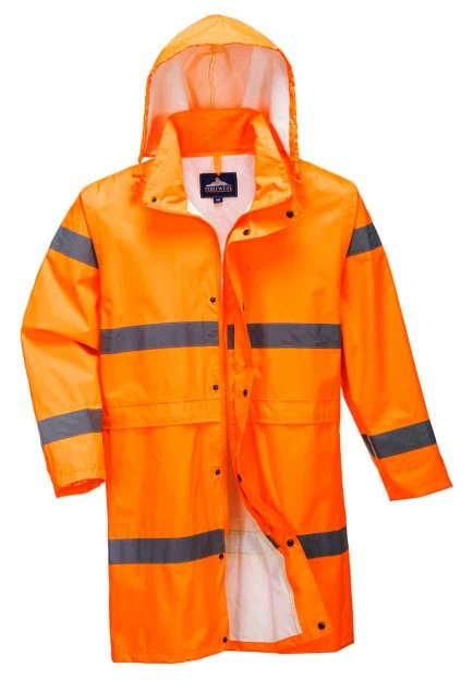 Portwest H442 Hi-Vis Rain Coat