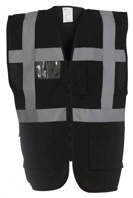 Yoko YK002 Multi-Functional Executive Hi Vis Waistcoat (HVW801)