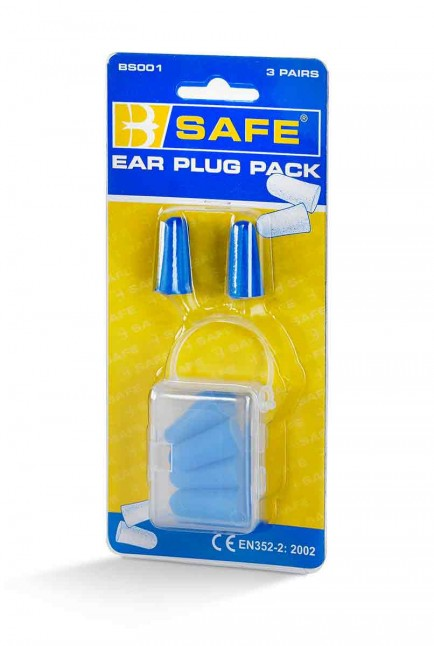 B-Safe BS001 Ear Plugs 3/Pack