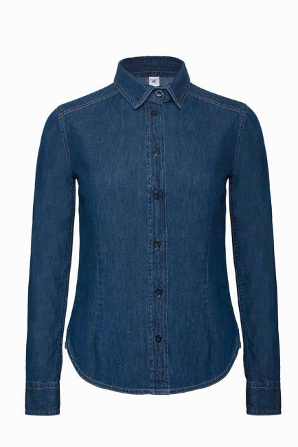B&C Denim B804F Vision /Women's Denim Shirt