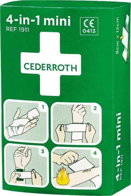 Cederroth CM0736 4 In 1 Mini Bloodstopper