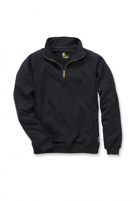 Carhartt Quarter-Zip Mock-Neck Sweatshirt