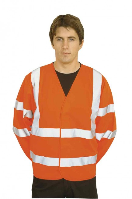 Portwest C473 Hi-Vis Two Band & Brace Jacket
