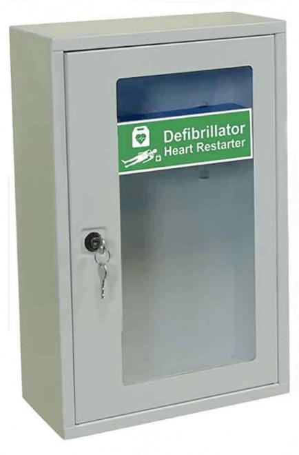 Click Medical CM1224 Indoor Defibrillator Cabinet With Key Lock