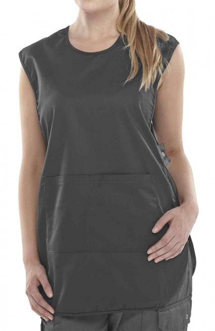 Click Workwear PCTABBL P/C Tabbard Black
