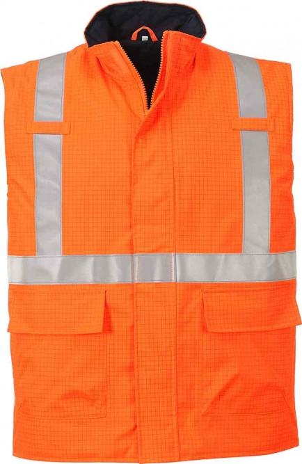 Portwest S776 Bizflame Rain Hi-Vis Antistatic FR Bodywarmer