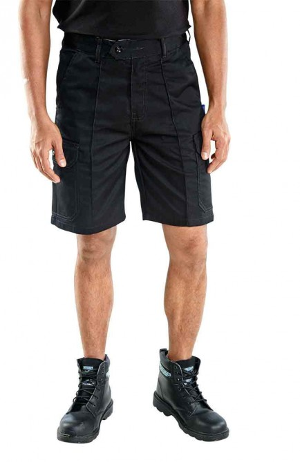 Super Click Workwear CLCPS C/Pocket Shorts Black