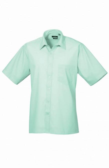 Premier PR202 Short Sleeve Poplin Shirt