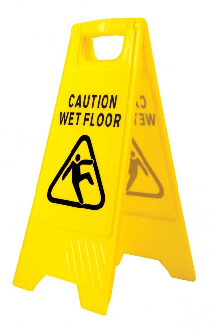Portwest HV20 Wet Floor Warning Sign