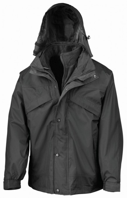 Result RS68 3in1 Waterproof Fleece lined Jacket