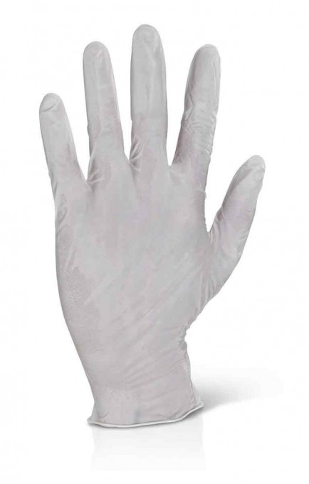 Click LEGP Powder Free Latex Disposable Gloves