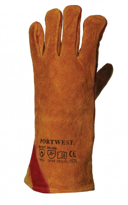 Portwest A530 Reinforced Welding Gauntlet