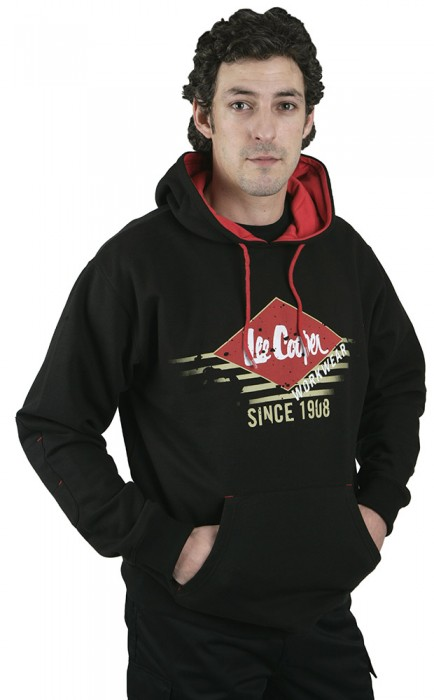 Lee Cooper LCSWT114 Graphic Hooded Sweat
