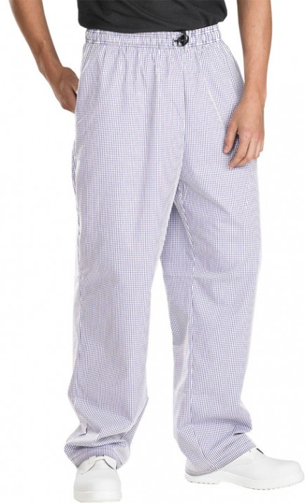 Catering Clobber Small Check Chefs Trousers