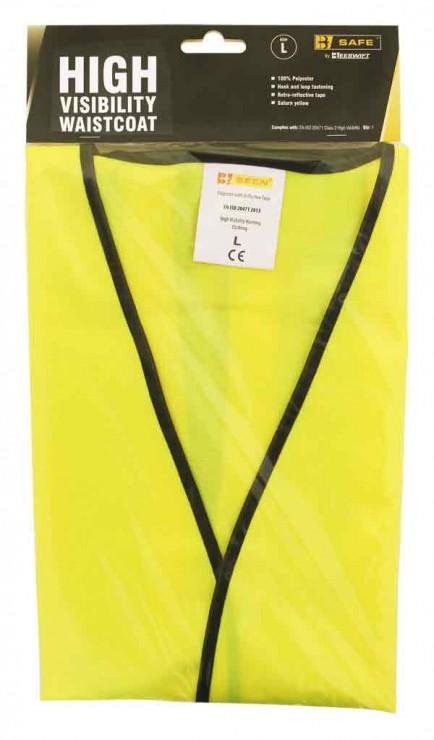 B-Safe Prepack BS062 Hi Visibility Vest