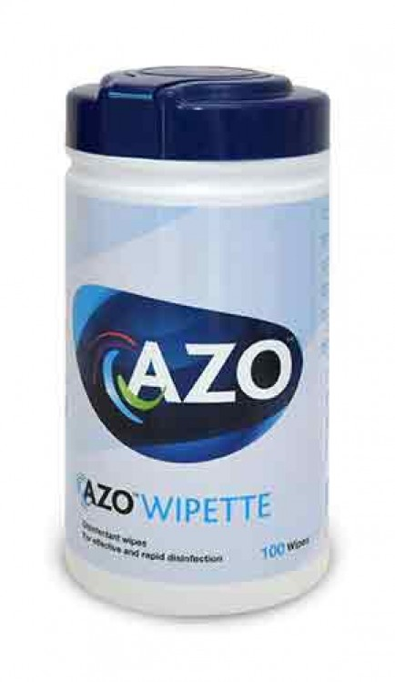 Azo CM0817 Disinfectant Surface Wipes