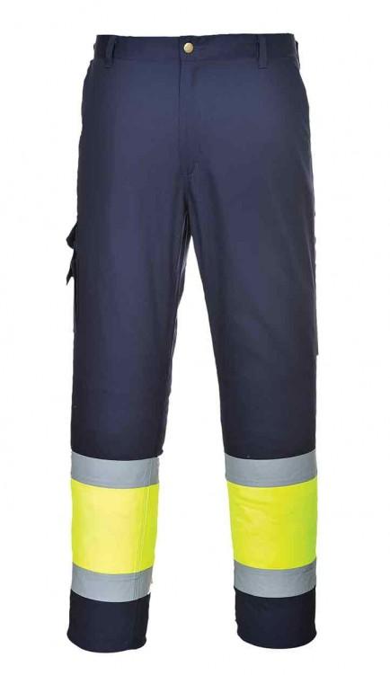 Portwest E049 Hi-Vis Two Tone Combat Trousers