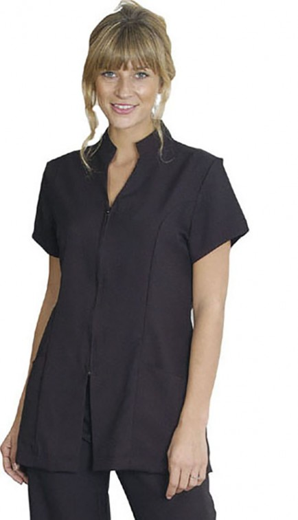 Harpoon HBZFT Health and Beauty Zip Front Tunic