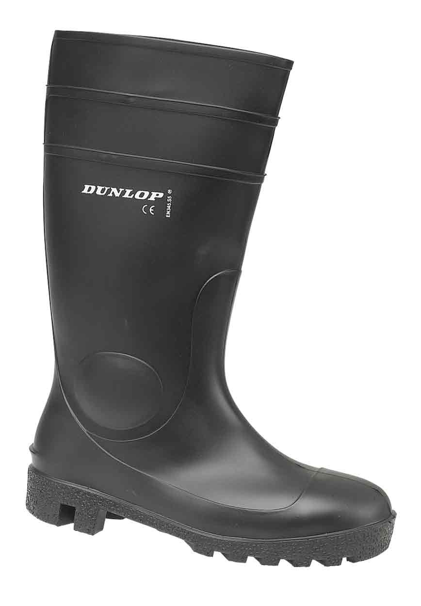 Dunlop FS1600/142PP Protomaster Safety Welly Black ...