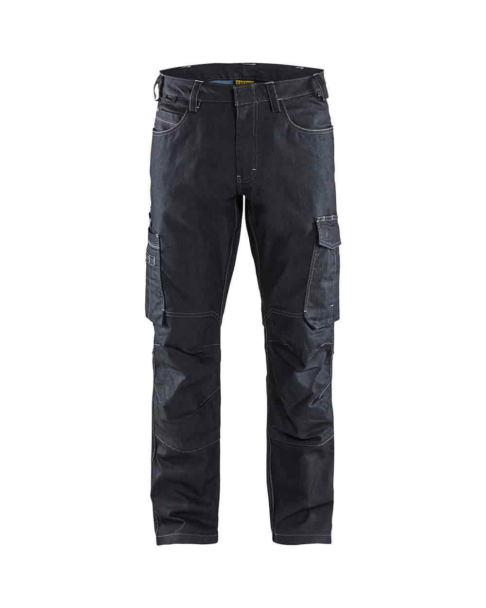 46fe343f0115 Blaklader 1439 Service Trouser Denim Stretch - Work Trousers ...