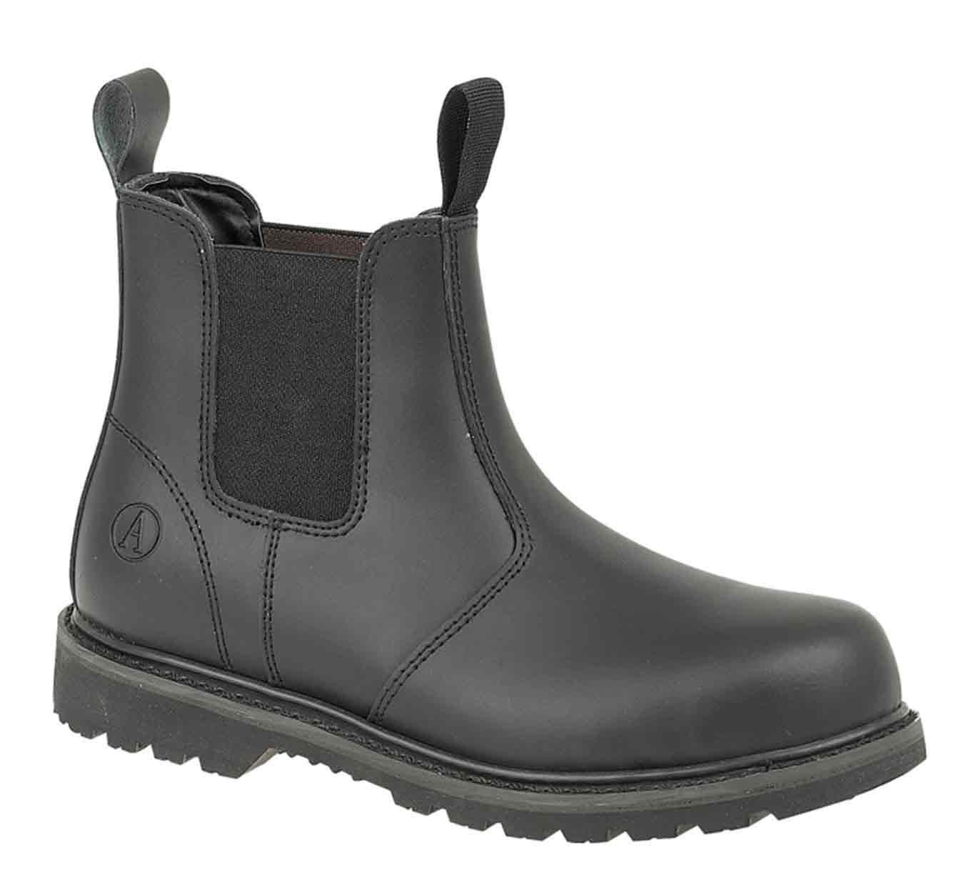 dealer boots black