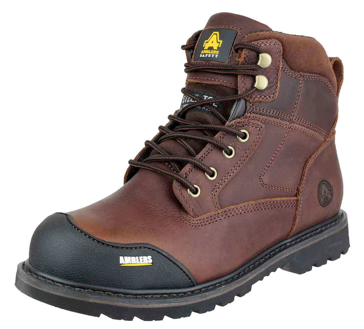 Full Grain Goodyear Welted Safety Boot
