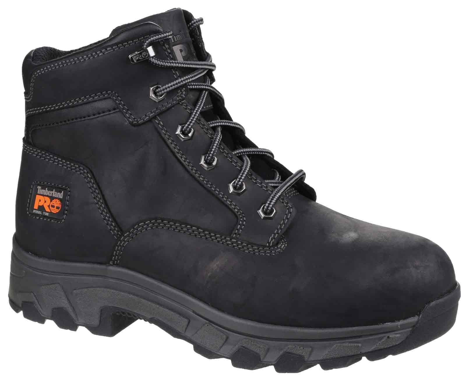 8fdaf9ed377c ... Water Resistant Lace up Safety Boot Timberland Pro Workstead Safety  Boot Black ...