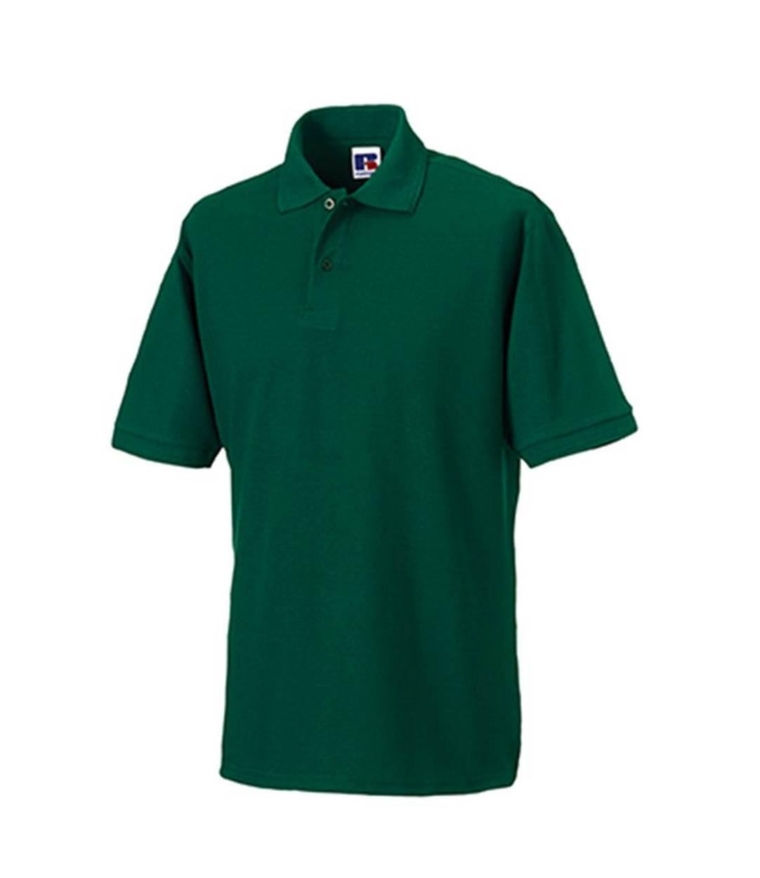 Russell Workwear 599m Hardwearing Pique Polo Shirt Plain Poly