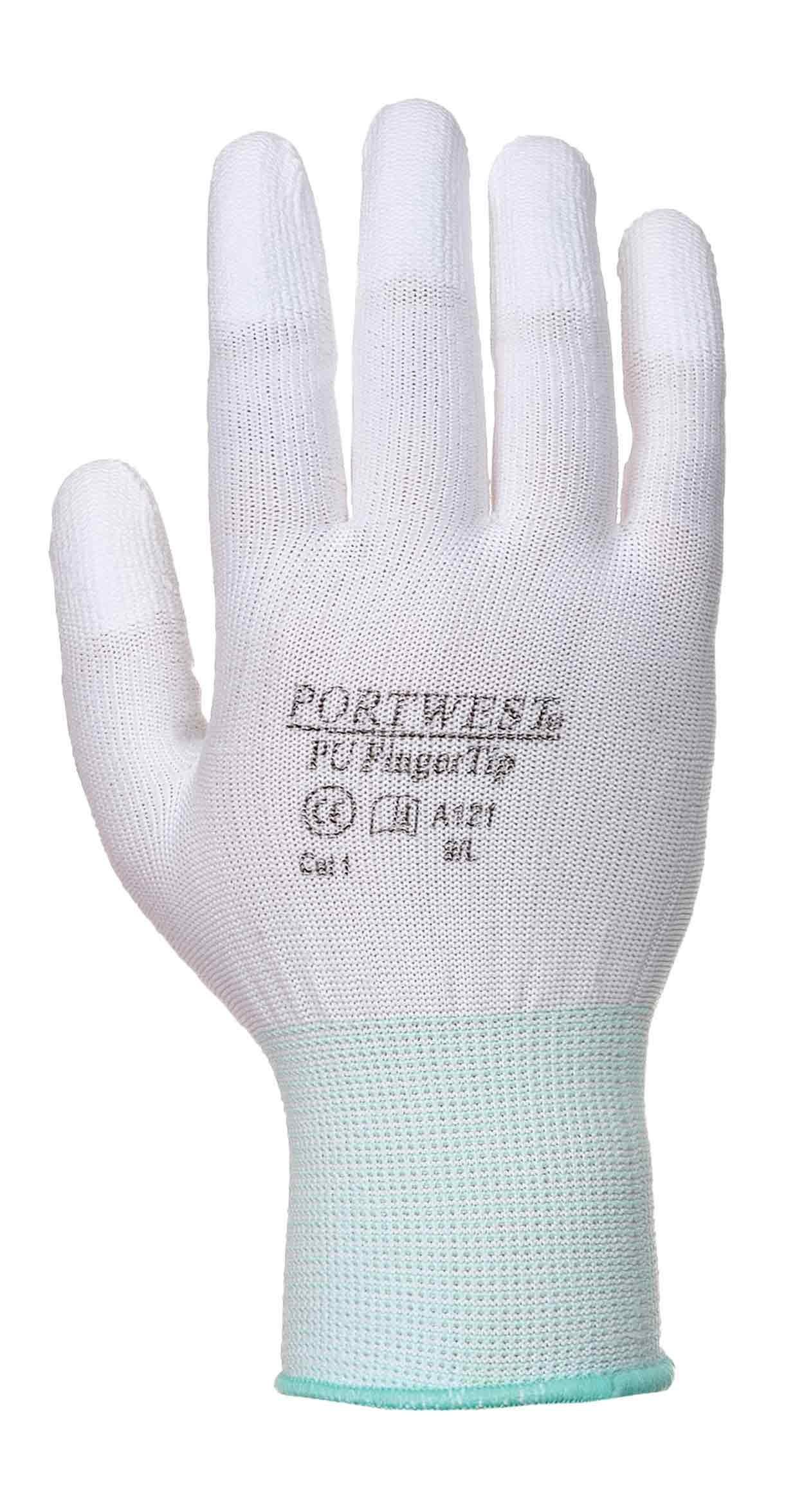 Leather work gloves screwfix - Portwest A121 Pu Fingertip Glove