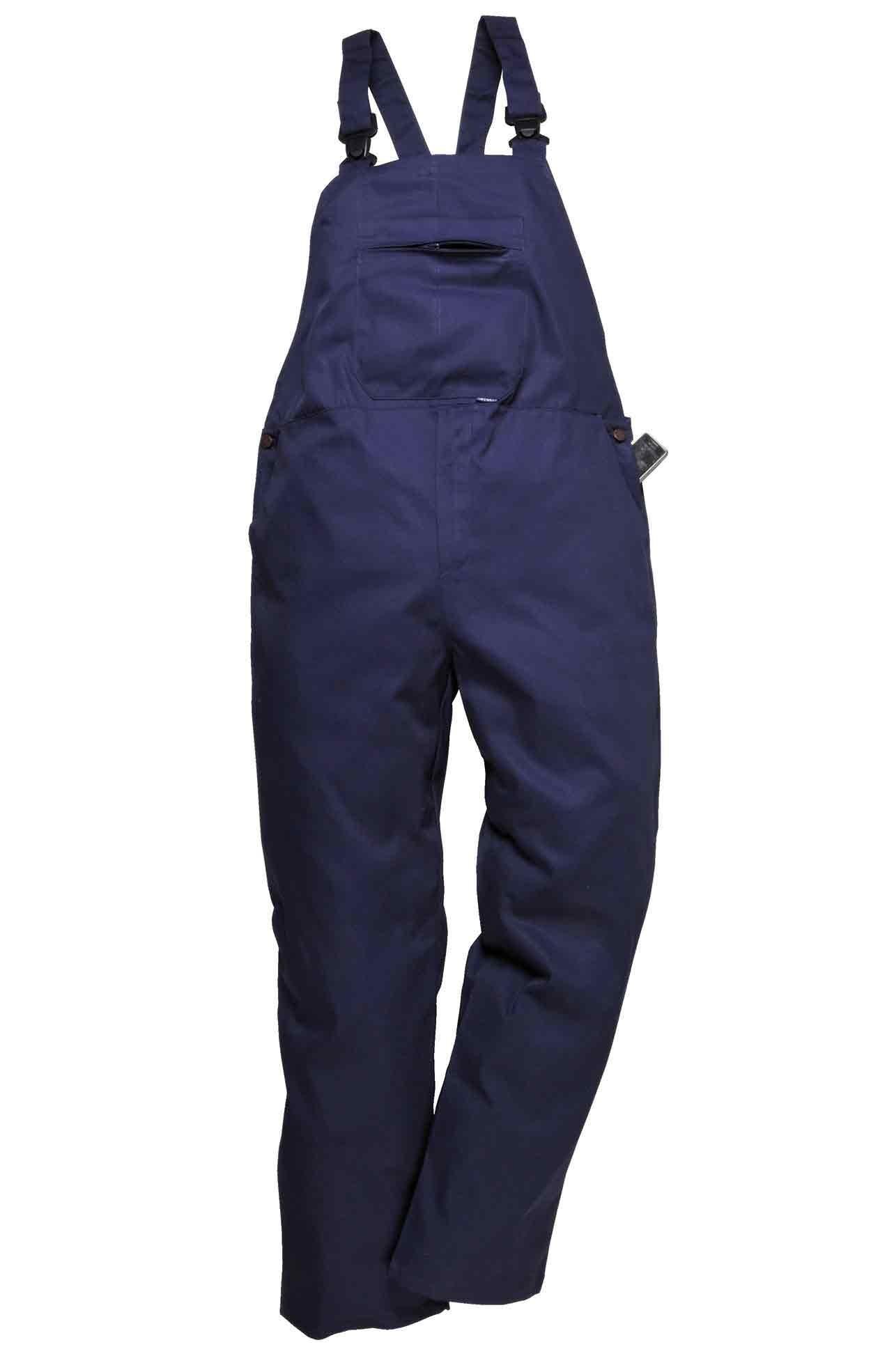 UK EU Portwest Workwear Burnley Bib and Brace C875