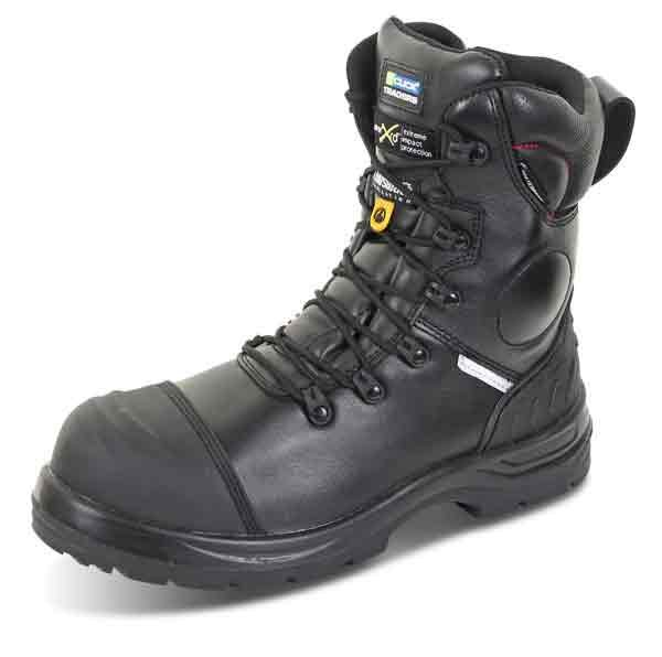 478ccecabdb Click Footwear CF67BL Click Trencher Plus Side Zip Boot - Standard ...