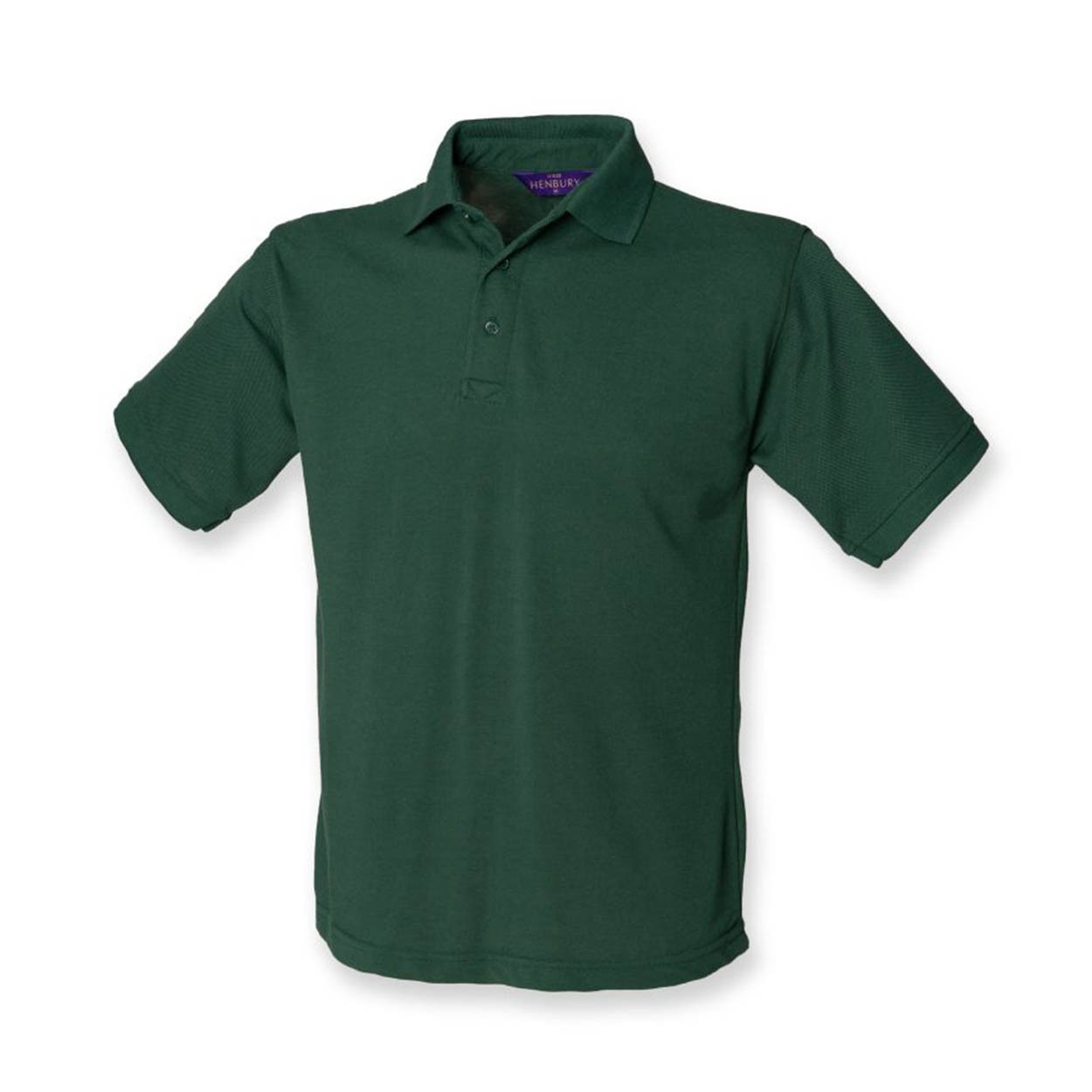 Henbury Herren Poloshirt CLASSIC COTTON PIQUE POLO XS S M L XL XXL 3XL Neu H100