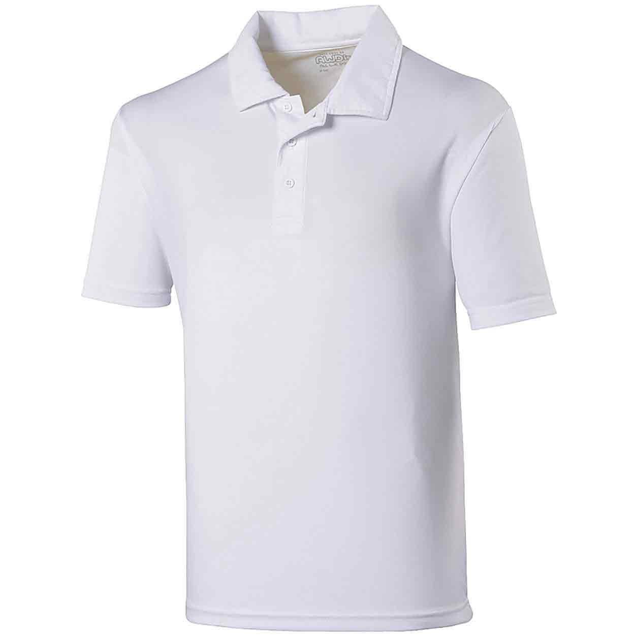 115db0ce AWDis Cool Polo - Plain Poly Cotton Polo Shirts - PolyCotton Polo ...