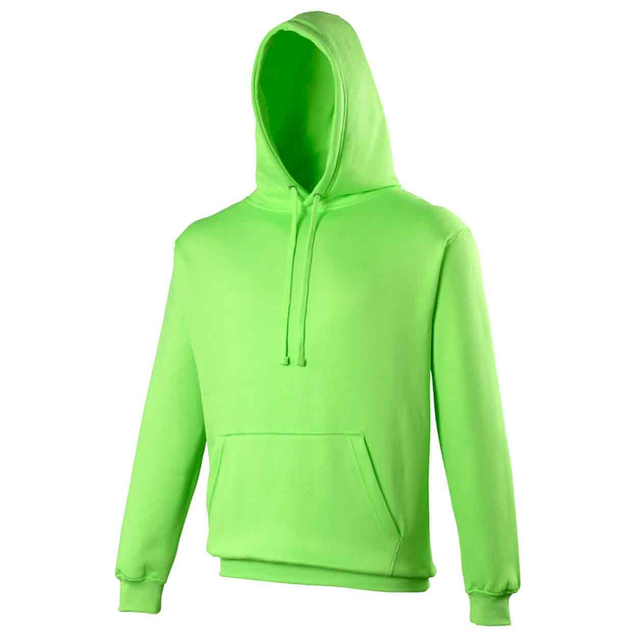 ... AWDis Hoods Electric hoodie Electric Green ...