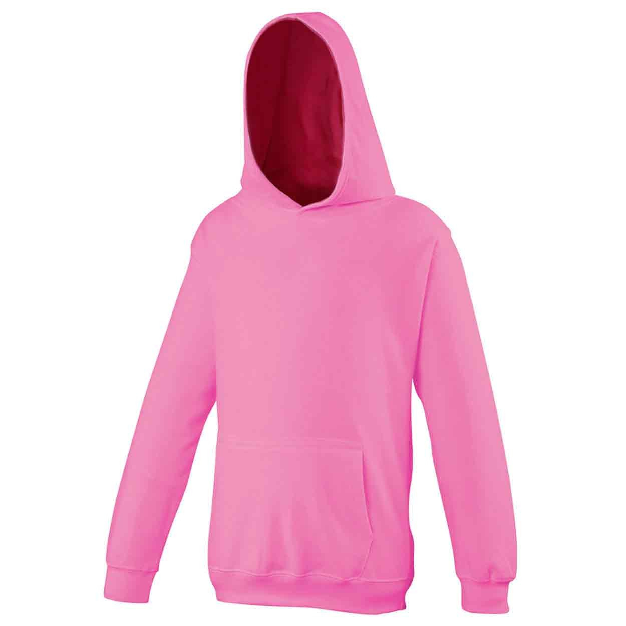 AWDis Hoods Kids hoodie Candyfloss Pink 12