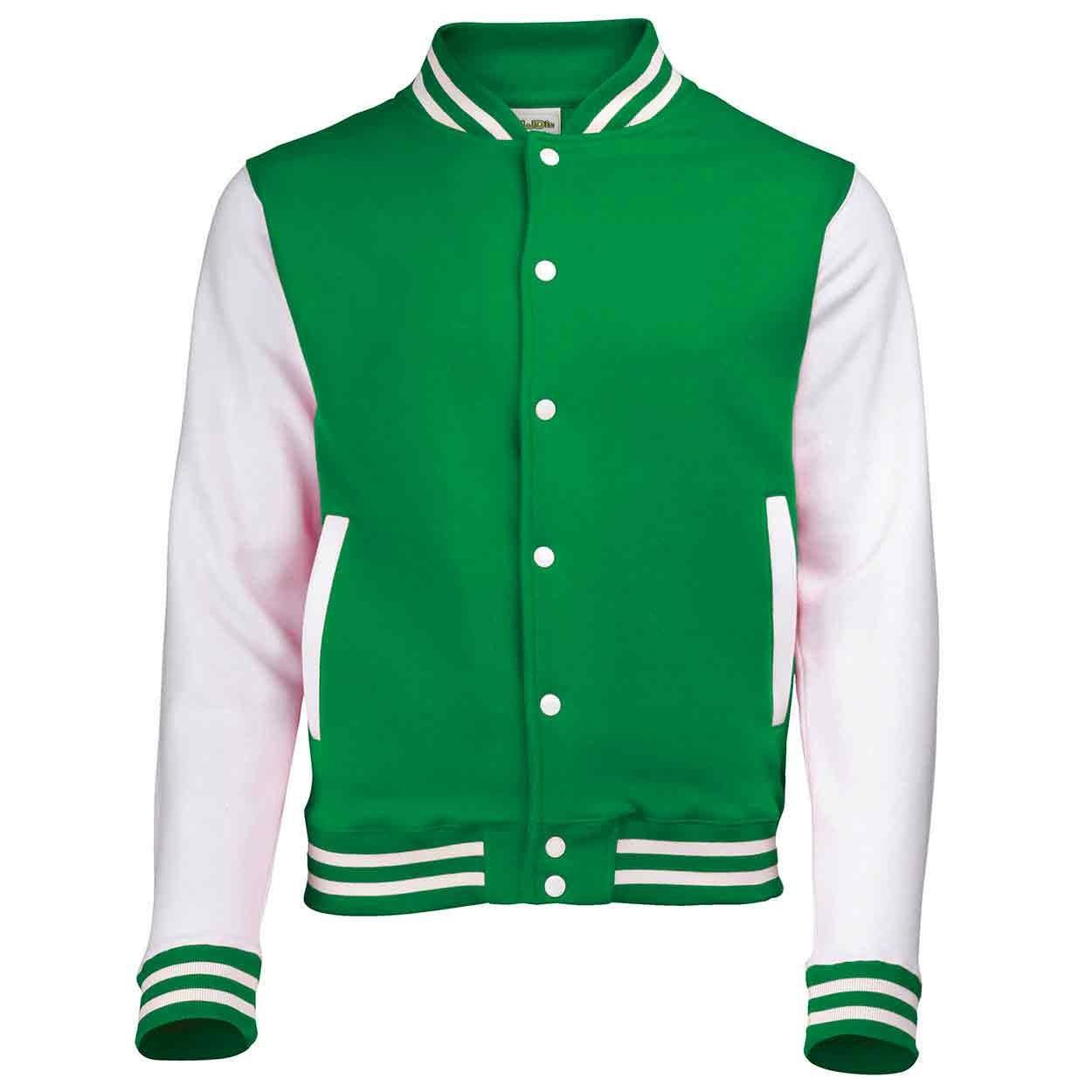 54cf9d59f AWDis Hoods JH043 Varsity Jacket - Zipped Jackets - Sweatshirt ...