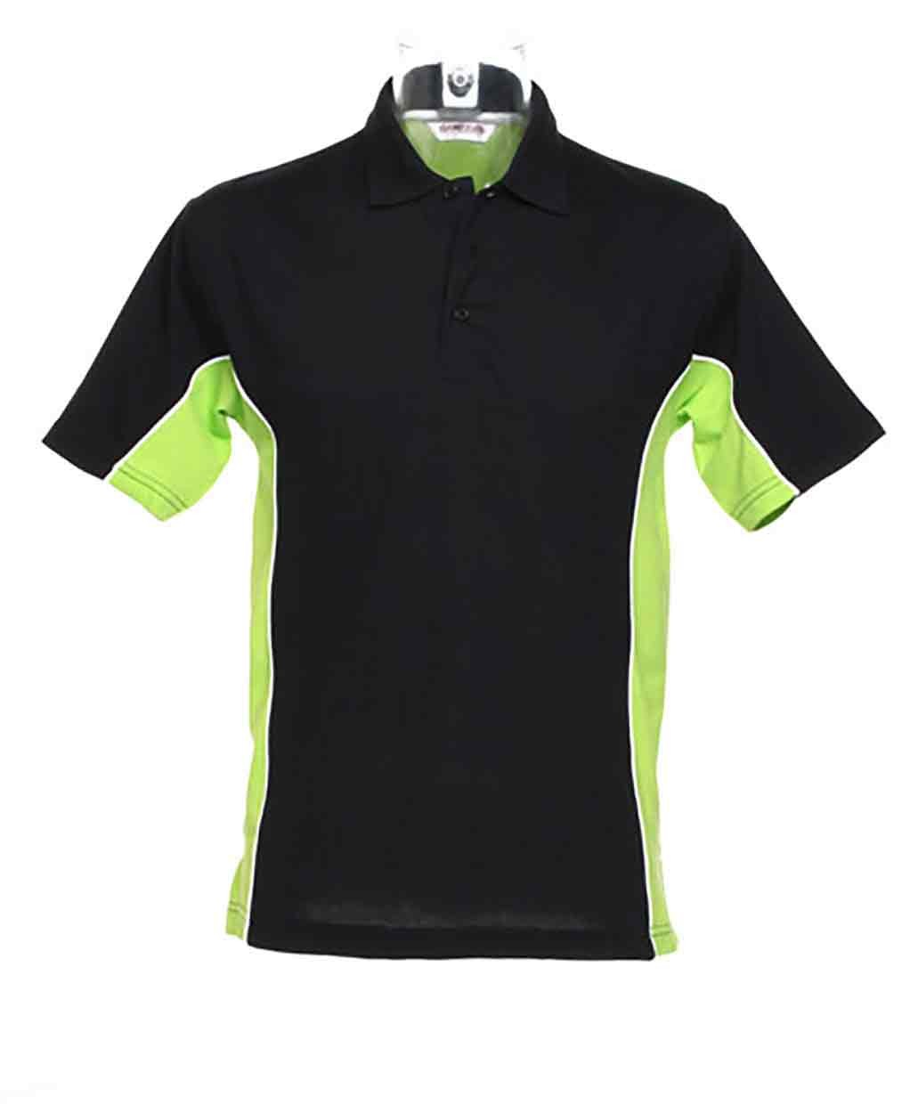 Black And Neon Green Polo Shirt Bcd Tofu House