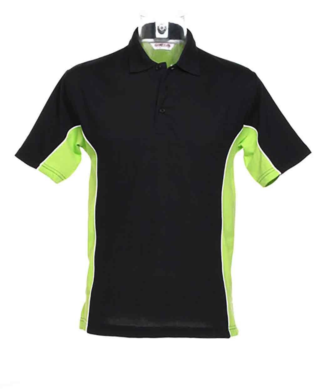 Gamegear Track Poly Cotton Pique Polo Shirt Cotton Contrast Polos