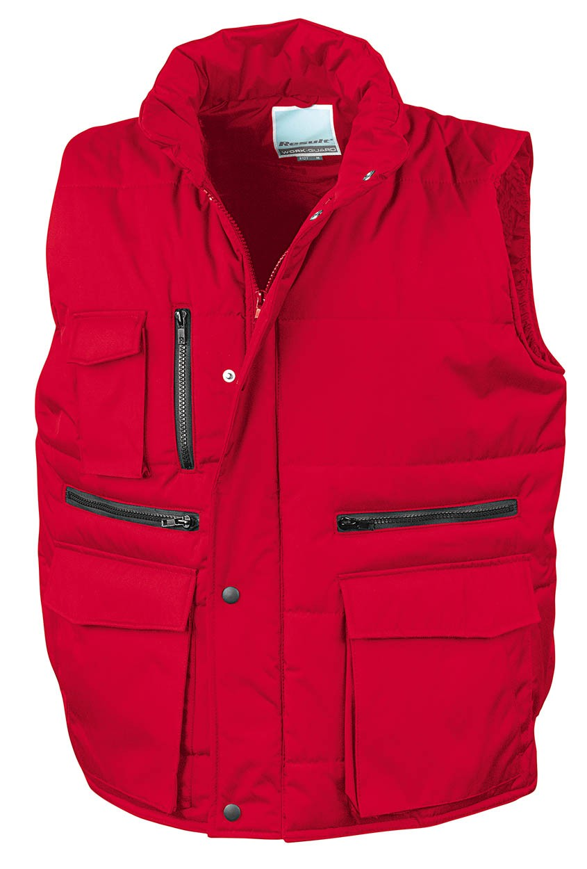 ... Result RS127 Workguard Bodywarmer Red ...