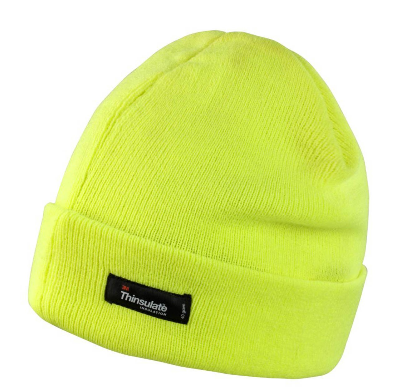 1f305db54fb Result RC133 Lightweight Thinsulate Hat Result RC133 Lightweight Thinsulate  Hat Black Fluo Orange Fluo Yellow ...